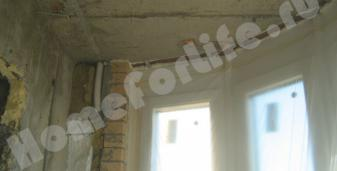 Теплоизоляция балкона пенополиуретаном