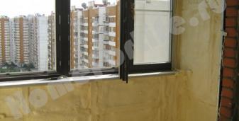 Утепление балкона напылением ппу