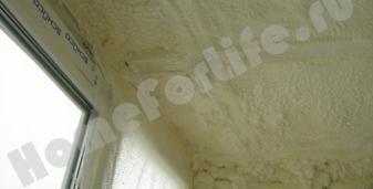 Теплоизоляция чистым материалом